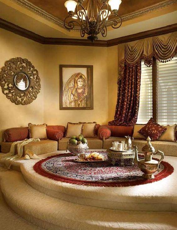 غرفة جلوس مغربي | المرسال