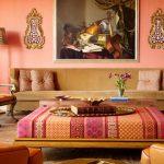 غرف معيشة من الطراز الهندي الرائع