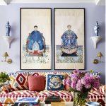 أحدث غرف المعيشة على الطراز الصيني Living room 2017