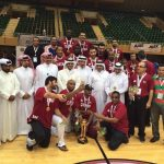 فوز فريق السلة القطري بلقب خليجي للمرة الرابعة علي التوالي