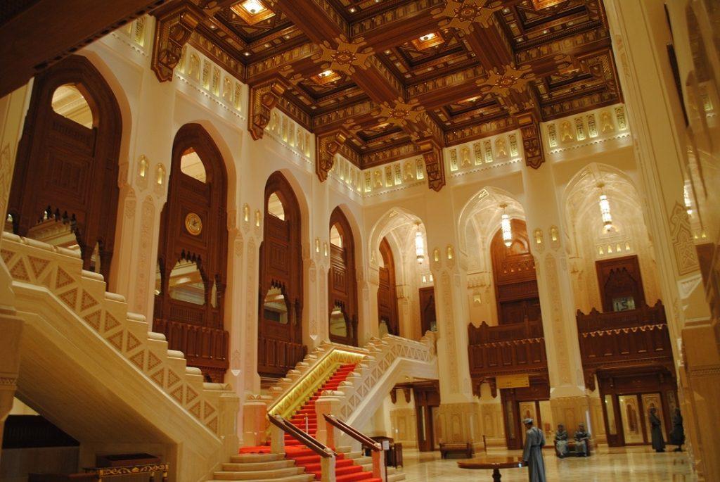 مدخل دار الأوبرا العمانية