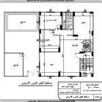 تصميم فيلا دوبلكس مساحة 200 متر مربع