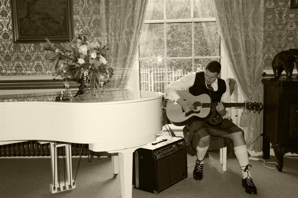 غرفة البيانو