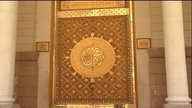 كم عدد ابواب المسجد النبوي