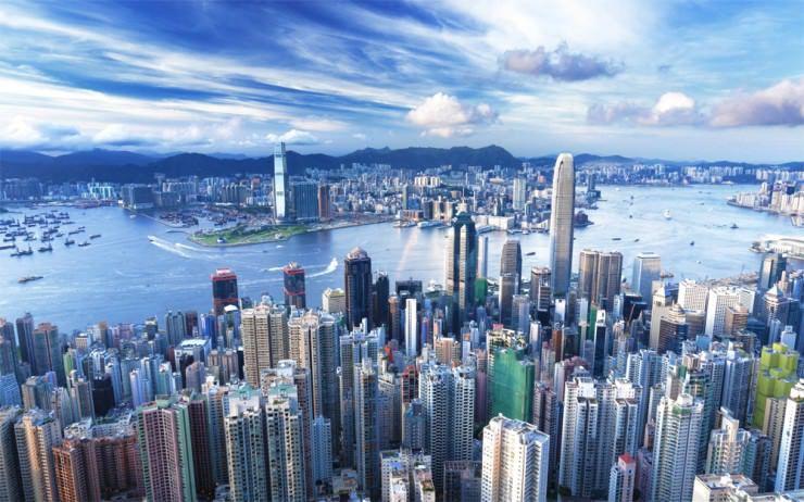 المدن اعظمى في الصين