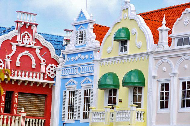اشهر معالم جزيرة أروبا 2-Oranjestad.jpg