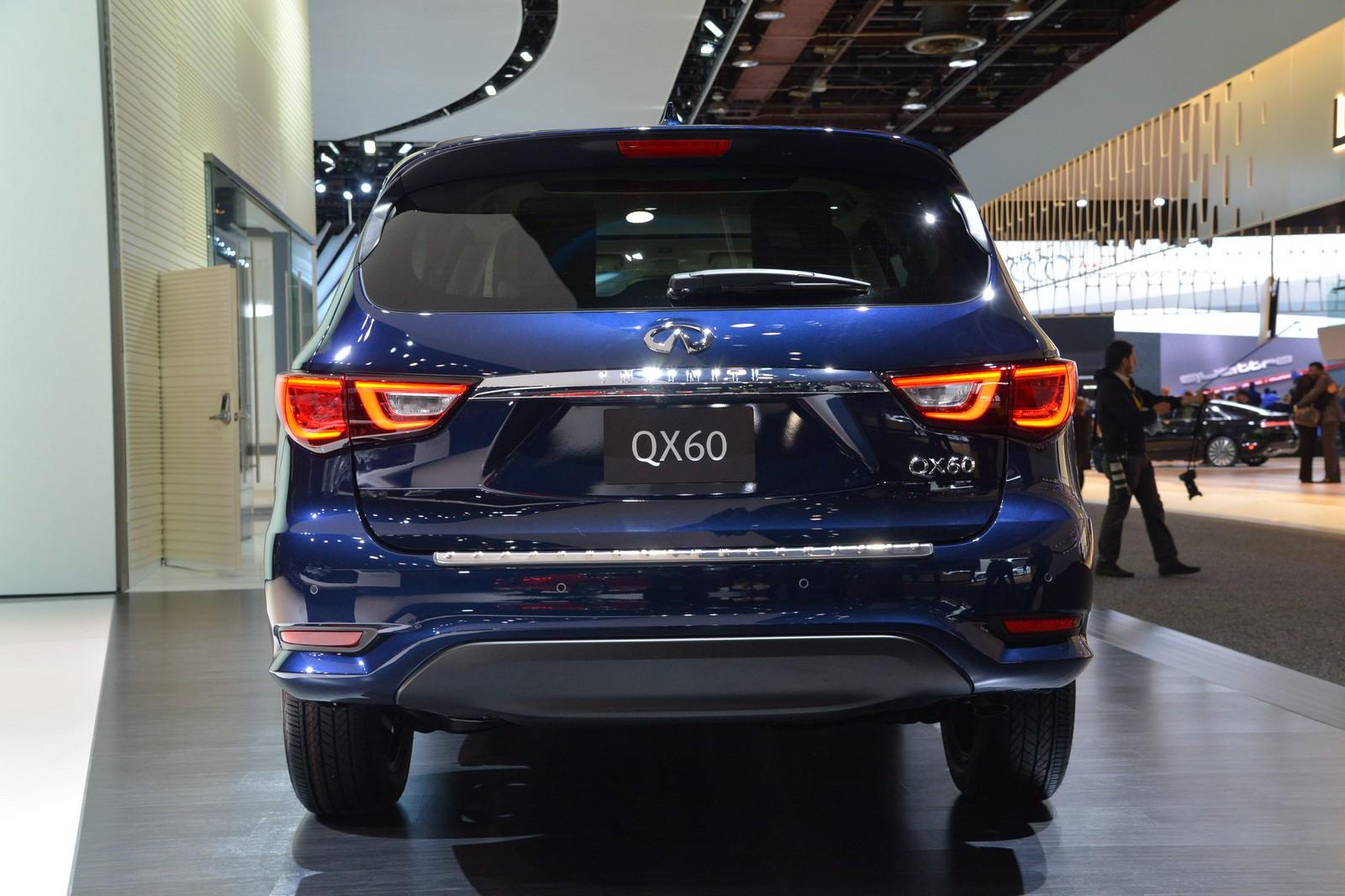 قوة المحرك والاداء للسيارة أسعار السيارة إنفينيتي QX60 موديل 2017 الجديدة