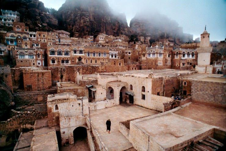 القرى القديمة المميزة بالنمط المعماري المميز في اليمن