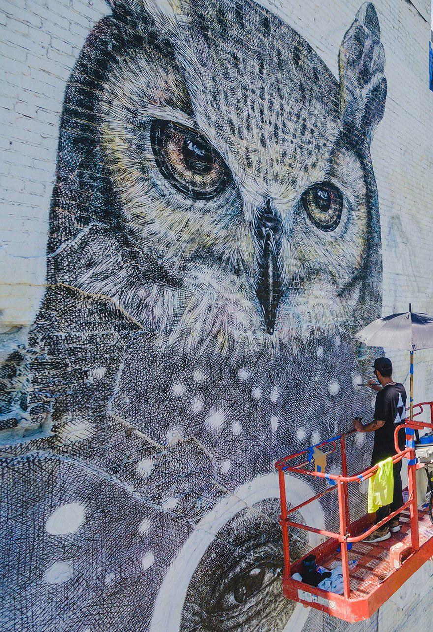 فن الرسم على الشوارع