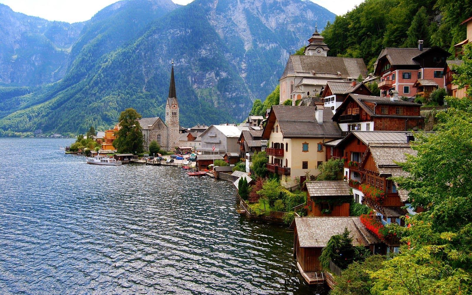 القرى في النمسا