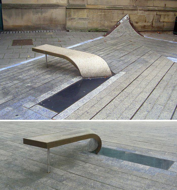 ابتكارات مقاعد الجلوس