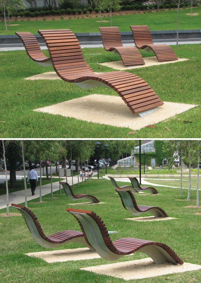 مقاعد الجلوس مبتكرة