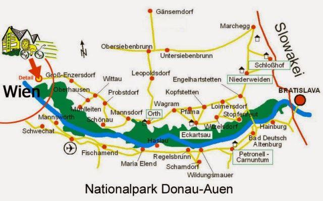 منتزه دوناو أوين الوطني في مدينة فيينا