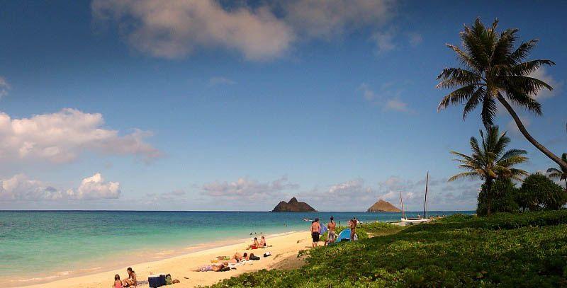 اجمل شواطئ العالم لعام 2016 Lanikai-Beach-Hawaii
