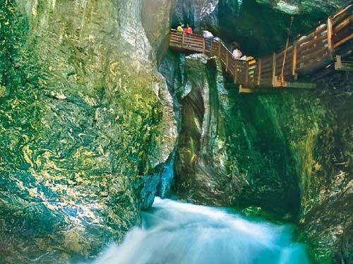 ثلاث أيام سياحة سالزبورج النمسا Liechtensteinklamm2.