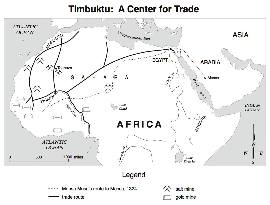 خريطة أفريقيا