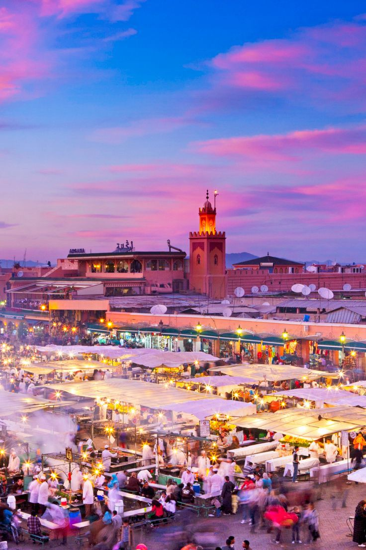 Marrakesh is the most famous city in Morocco