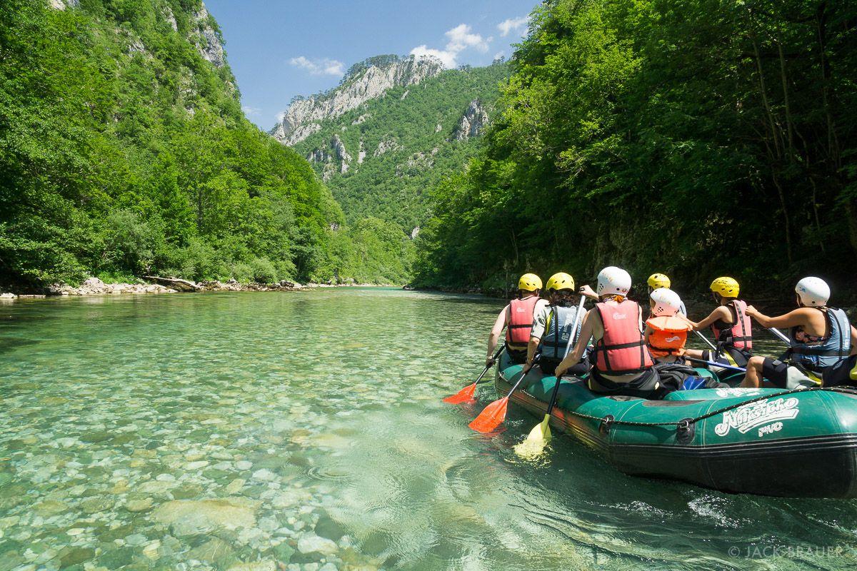 وادي تارا بالصور Rafting-on-Tara-rive