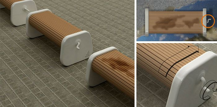 rotating-bench-keeps-the-seat-dry-after-rain