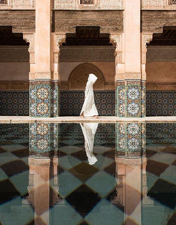 الهندسة المعمارية البارزة في مراكش