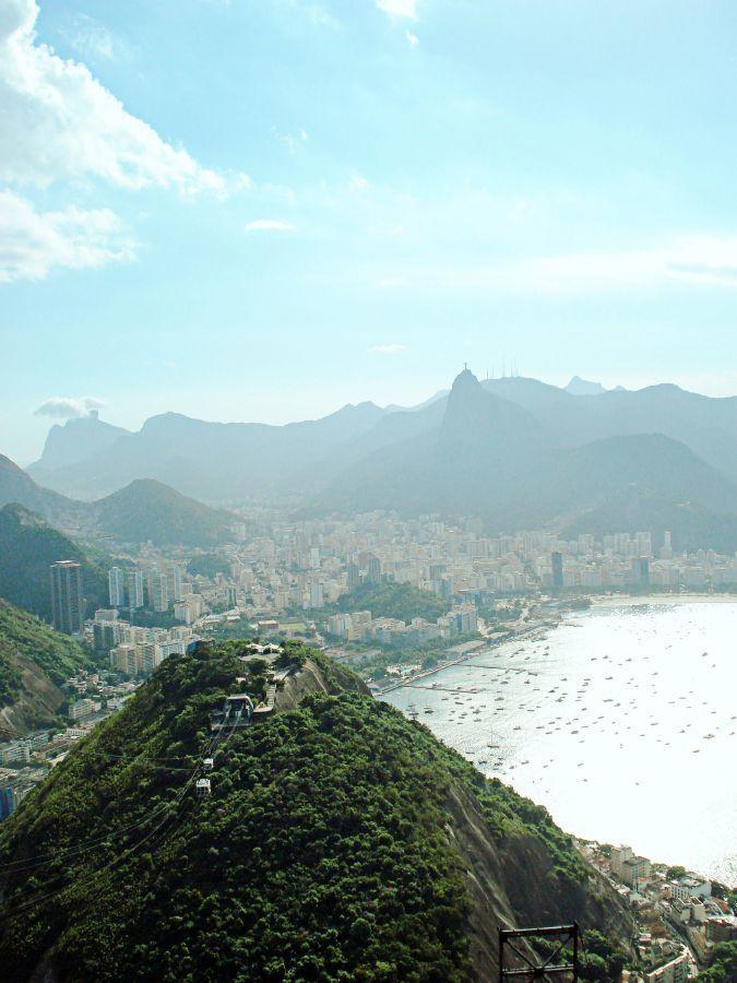 موقع مدينة ريو دي جانيرو