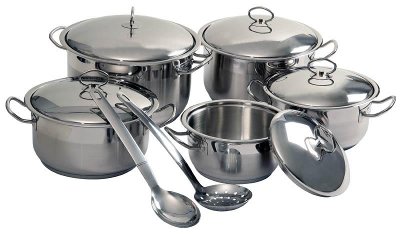 انواع حلل الطبخ مزايا وعيوب ونصائح للحافظ عليها