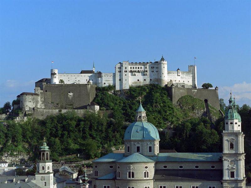 سالزبورج العالي مدينة سالزبورج النمسا hohensalzburg-fortre
