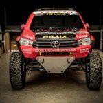 تويوتا تعلن عن شاحنة السباق الجديدة هايلوكس إيفو 2017