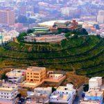 الجبل الأخضر في مدينة أبها