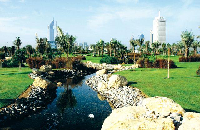 حديقة الخور السياحية في دبي المرسال