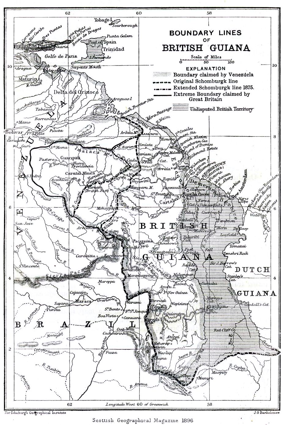 خريطة غيانا