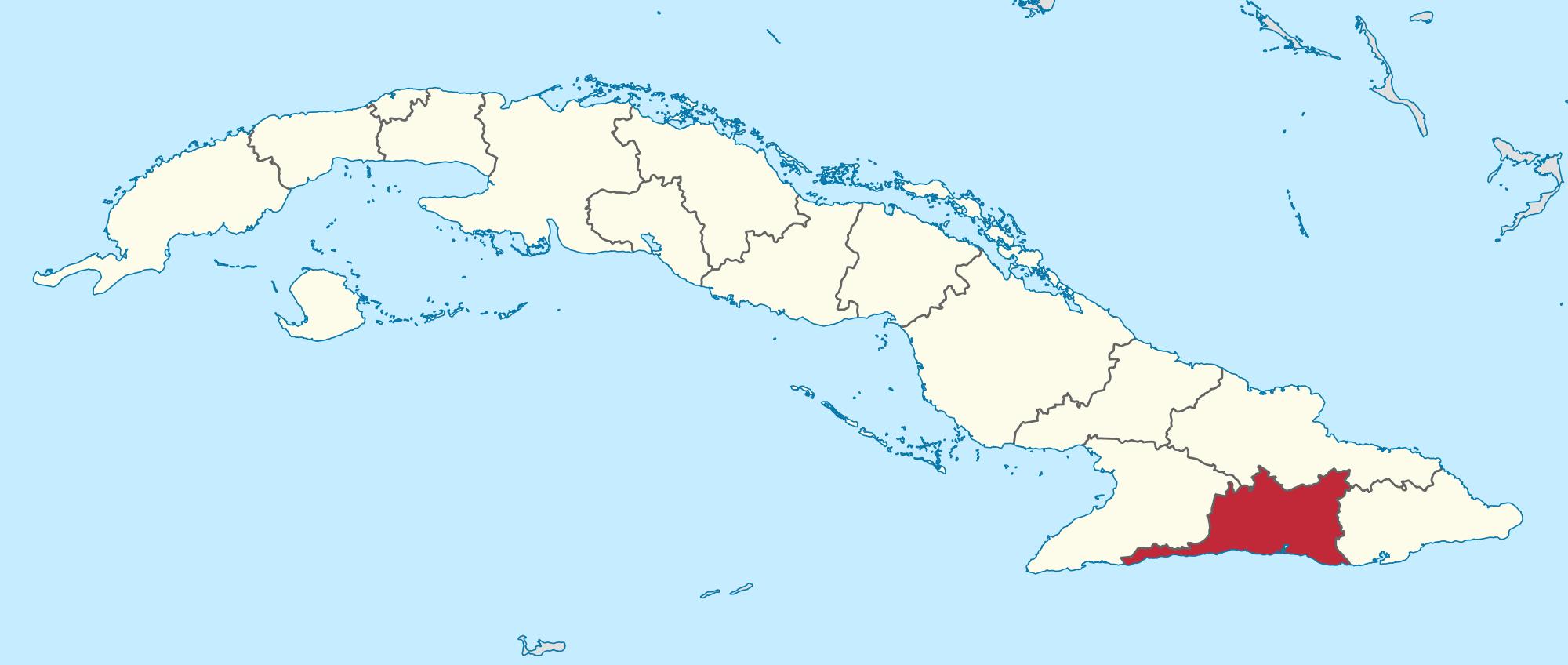 خريطة كوبا
