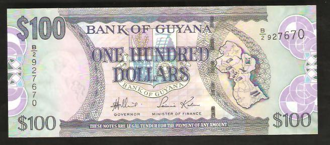 عملة غيانا