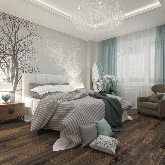 غرفة نوم رمادي | المرسال