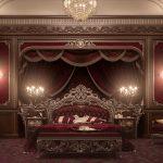 فخامة الكلاسيك في غرف النوم 2017