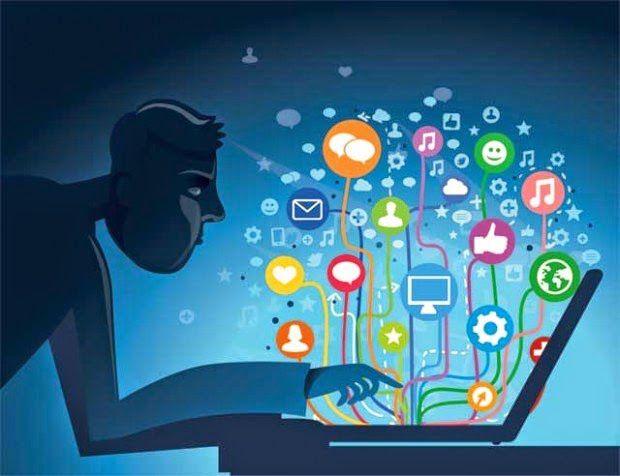 بحث عن فوائد و أضرار الانترنت - المرسال