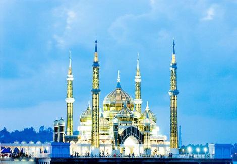 اخبار الامارات العاجلة -الكريستال أجمل و أكبر مساجد العالم أخبار متنوعة  منوعات مساجد صور