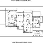 تصميم فيلا سكنية مساحة 200 متر مربع