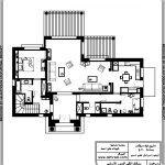 تصميم عمارة سكنية مساحة 300 متر مربع