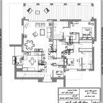 تصميم فيلا دوبلكس بمساحة 300 متر مربع