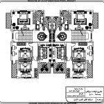 تصميم فلل مساحة الارض 500 متر مربع