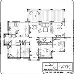 فيلا دوبلكس بنظام امريكي بمساحة 350 متر مربع