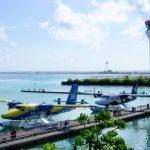 أين يقع مطار جزر المالديف ؟