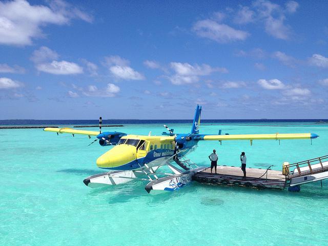 مطار مالديف المائي