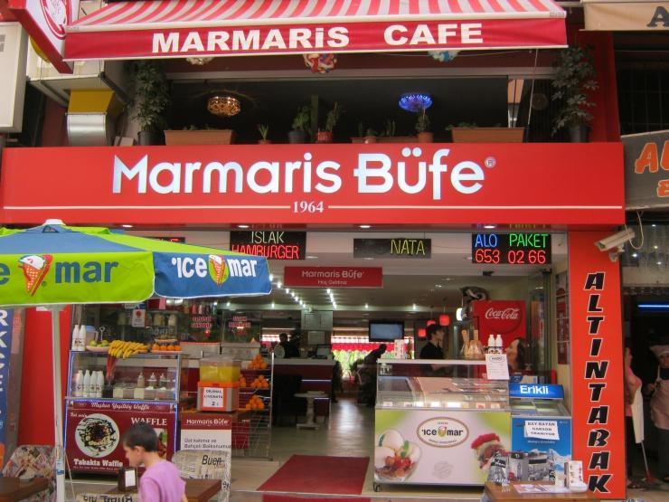 مطعم marmaris-bufe