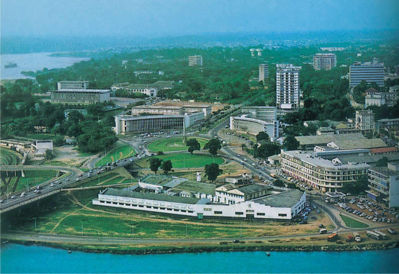 معالم ساحل العاج