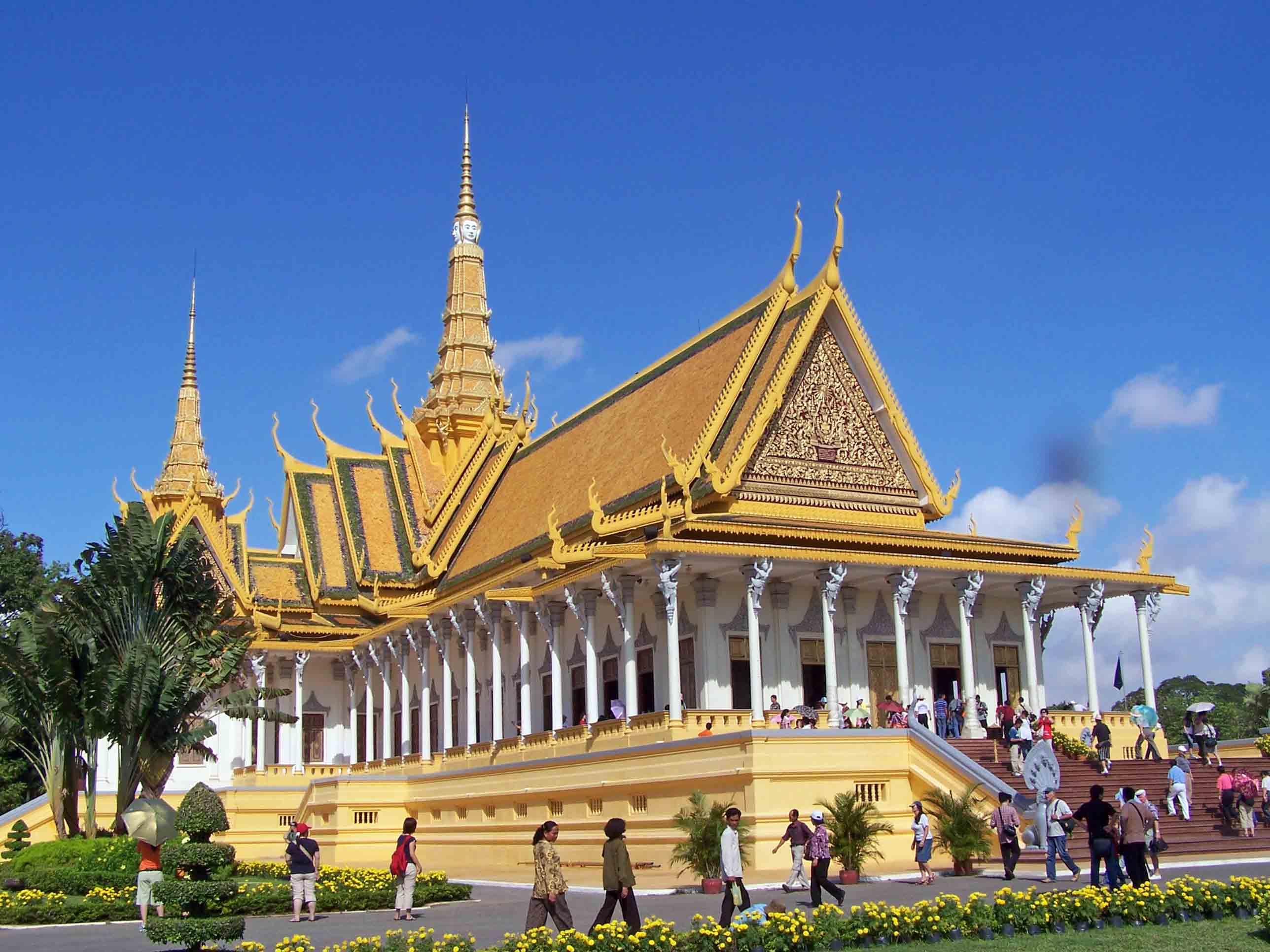 معالم كمبوديا