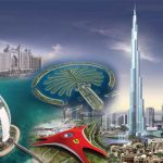 شاهد علم و عملة دولة الإمارات العربية المتحدة