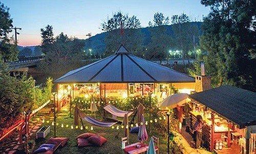 مقهى الدلب للاسترخاء في اسطنبول
