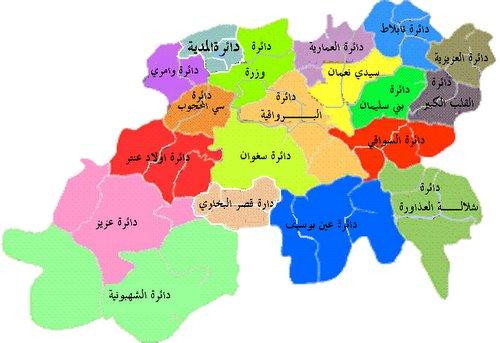 ولايات القطر الجزائري